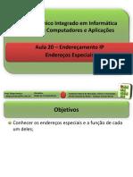 Enderecos IP-Enderecos Especiais