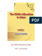 The Child's Education in Islam  Author