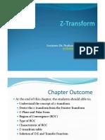 Chapter 5a Z-Transform