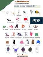 kleidung-Wortschatz-Deutsch-Lernen-PDF