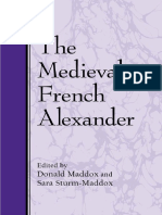 (Suny Series in Medieval Studies) Donald Maddox, Donald Maddox, Sara Sturm-Maddox - The Medieval French Alexander -State University of New York Press (2002) 2