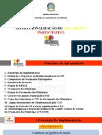 Apresentação Orçamento Participativo - revista 16 08 2020