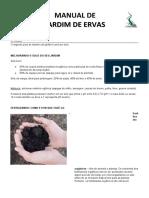 MANUAL DE JARDIM DE ERVAS