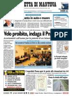 Gazzetta Mantova 10 Novembre 2010