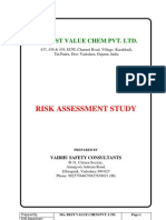 Best Value Chem Pvt Ltd Risk Assessment Report