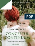 Jean Liedloff - Conceptul Continuum