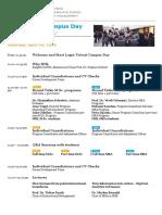 Agenda Virtual Campus Day