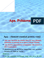 apa.poluarea apei