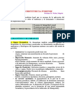 OBSTETRICIA FORENSE  2015 MEDICINA LEGAL
