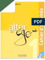 Alter Ego 1 Cahier d 39 Activites