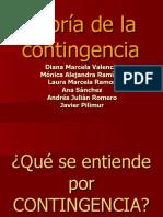 TEORIA DE LA CONTINGENCIA