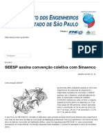 SEESP assina convenção coletiva com Sinaenco