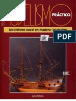 Modelismo naval en madera practico [principiante, medio y avanzado]