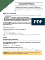 TP N° 12 - PROBABILIDAD DE LA INTERSECCIÓN DE SUCESOS
