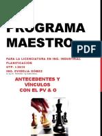 EL PROGRAMA MAESTRO - version 2015 (2)