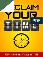 Recupere seu tempo