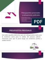 Presupuestos procesales   y actuaciones judiciales.pptx