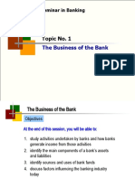 A201 BWBB3193 Topic 01 The Business of the Bank