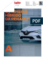 "RENAULT CLIO E-TECH HÍBRIDO NA ""TURBO"""