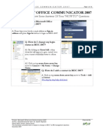 LCS Office Communicator User Manual