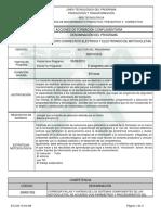 Informe Programa de Formación Complementaria  MANTENIMIENTO CORRECTIVO ELECTRICO Y ELECTRICO DE MOTOCICLETAS