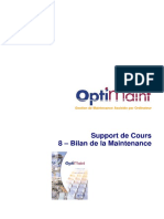 08 - OptiMaint Bilan de la _ Maintenance.pdf