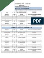 HORARIO DE EXAMEN PARCIAL ORDINARIO 2020 ACTUALIZADO