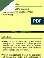 Presentation - Project Management