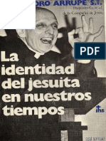 Arrupe SJ, Pedro - La identidad del jesuita en nuestros tiempos.pdf