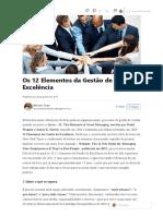 (6) Os 12 Elementos da Gestão de Excelência _ LinkedIn