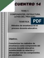 14 - Activ 27 y 28 - Métodos de enseñ - Conf