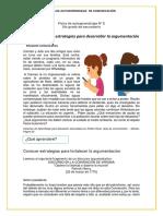 FICHA DE TRABAJO2 SEMANA1 5° SECUNDARIA COMUNICACIÓN