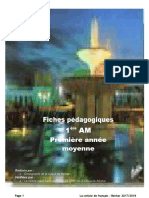 Projet 1 & 2 - 1AM fiches 20172018 (1).pdf · version 1-converti