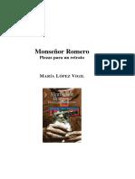 Monseñor Romero, Piezas para un retrato
