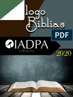 Catálogo Biblias