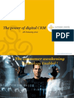 The power of digital CRM