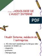 Méthodologie de l'audit interne