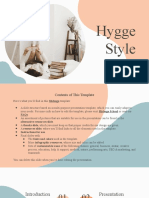 Hygge Style Orange variant