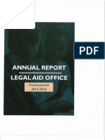 Annual Report of Legal Aid Office Bermuda 2013 - 2019