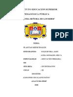 CARATULA DE PLANTAS MEDICINALES