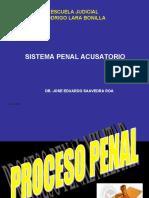 Sistema Penal Acusatorio  Dr Saavedra Roa.ppt