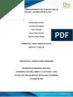 Fase 3 - Definir los requerimientos de espacio y proponer una localizacion de la planta Industrial