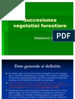Succesiunea vegetatiei forestiere