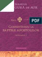 12. (Sfântul Ioan Gură de Aur) Comentariu la Faptele  Apostolilor - Volumul I.pdf