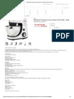 Batedeira Planetaria Arno Delux 8 Vel Sx80 - Sx80 - Branco