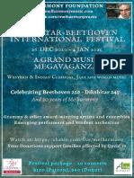 Dikshitar Beethoven Melharmony Festival 2020