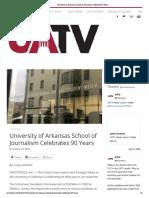 university of arkansas school of journalism celebrates 90 years