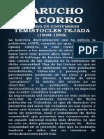 Marucho Cacorro. Temístocles Tejada