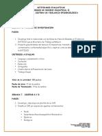 ACTIVIDADES EVALUATIVAS R.H.I-II-UNIDAD 3. (Semana 6, 7 y 8)