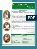Ramakrishna Mission Vidyalaya Newsletter - July to December - 2007